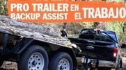 Pro-Trailer Backup Assist en el Trabajo